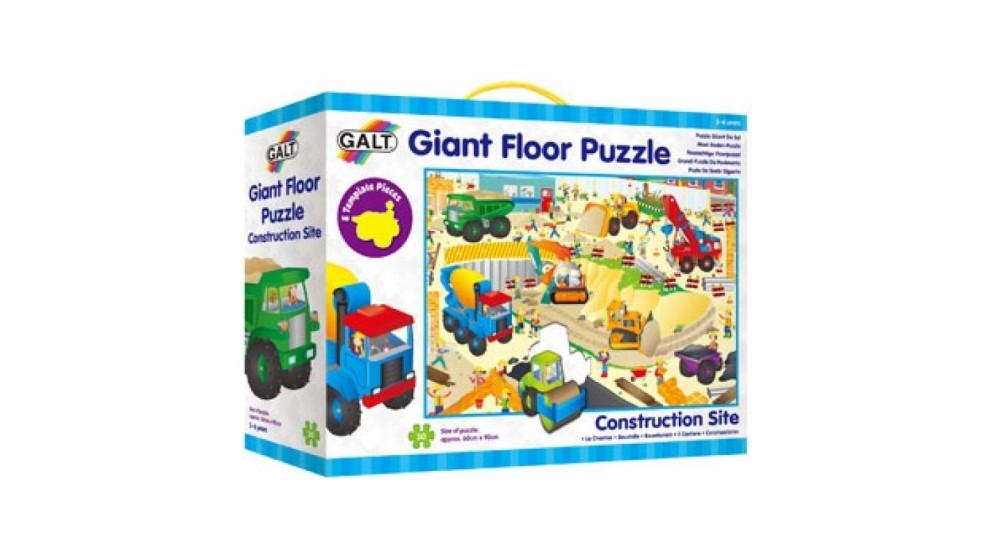 Galt Construction Site Giant Puzzle