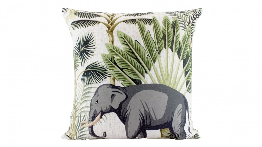 Jungle Ellie Square Cushion