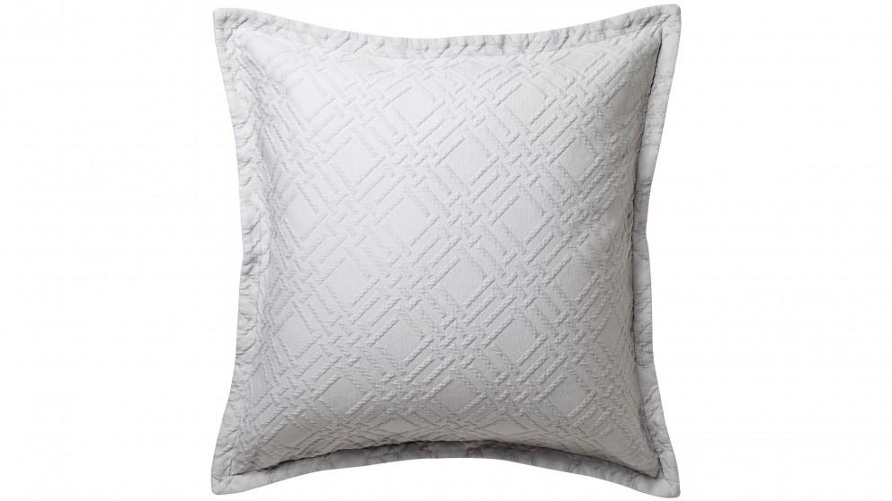 Fitzroy Silver European Pillowcase