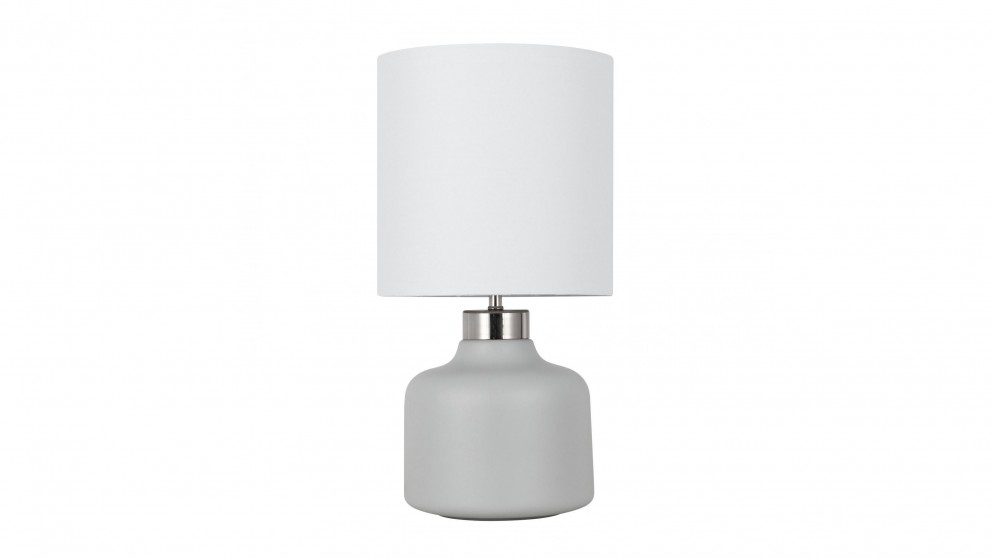 Jamie Cement Bedside Lamp