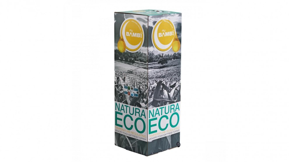 Bambi Natura Eco Mattress Topper with Clima Cover