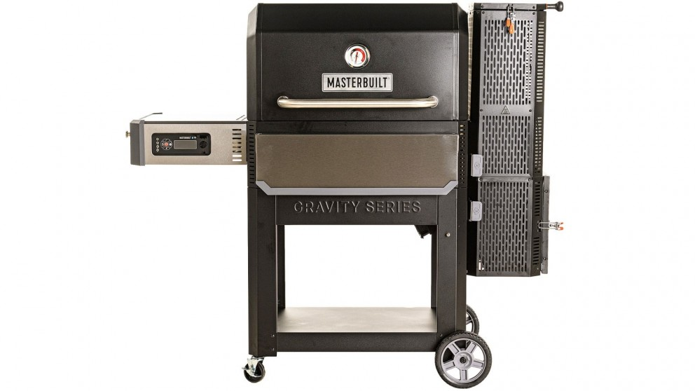Masterbuilt Gravity Fed Series 1050 Digital Charcoal Grill and Smoker with Cover