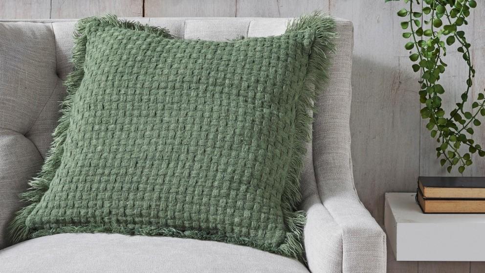 L'Avenue Summer Olive Cushion