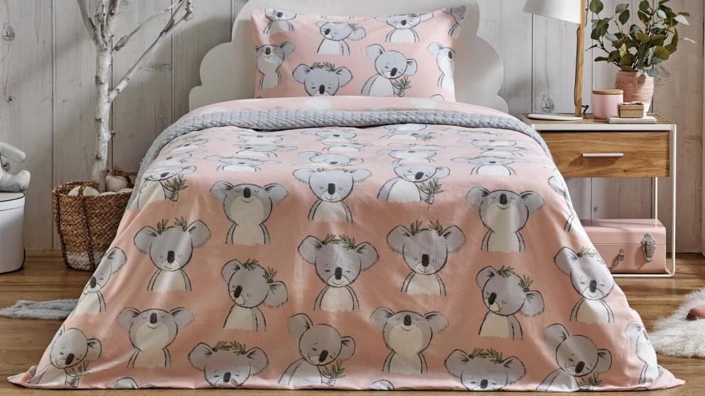 Keiko Koala Quilt Cover Set