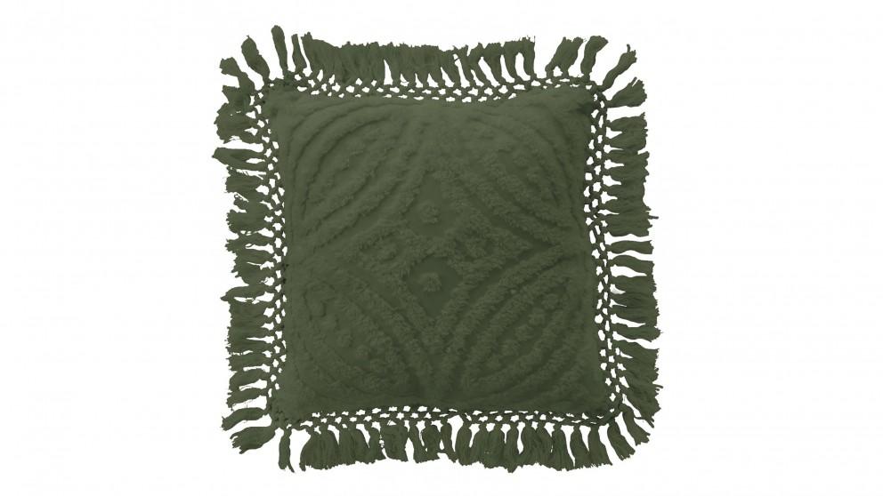 Savannah Olive Cushion