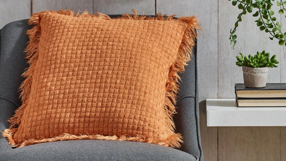 L'Avenue Summer Rust Cushion