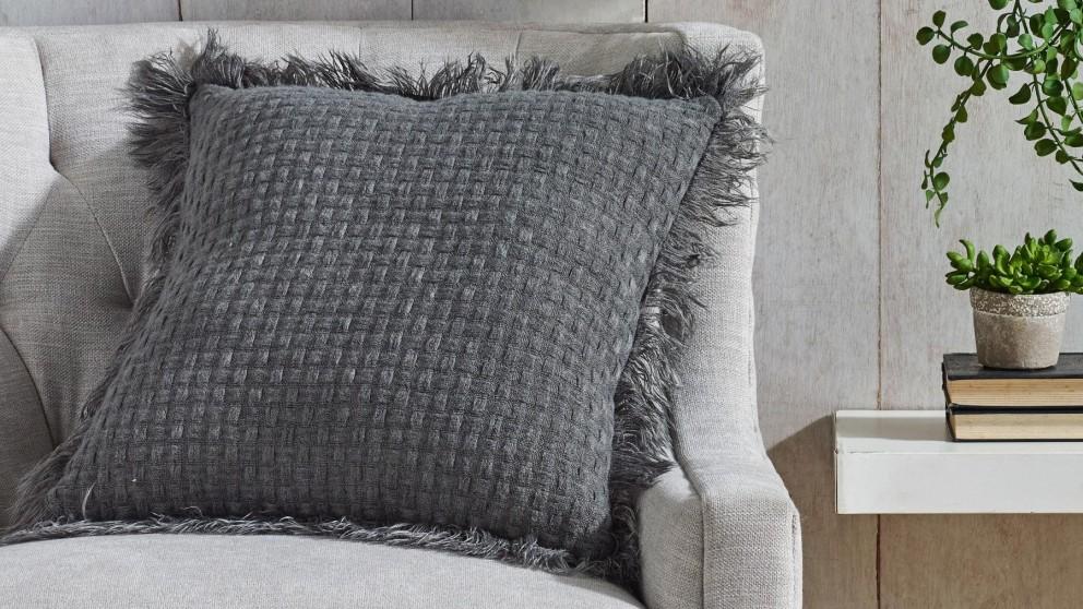 L'Avenue Summer Charcoal Cushion