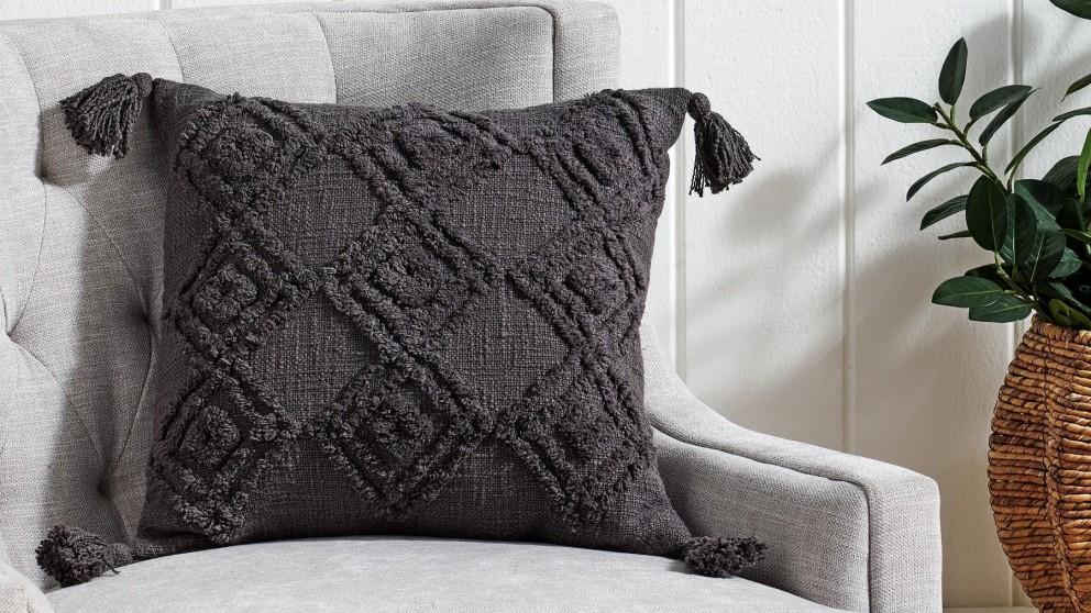 L'Avenue Atmosphere Charcoal Cushion