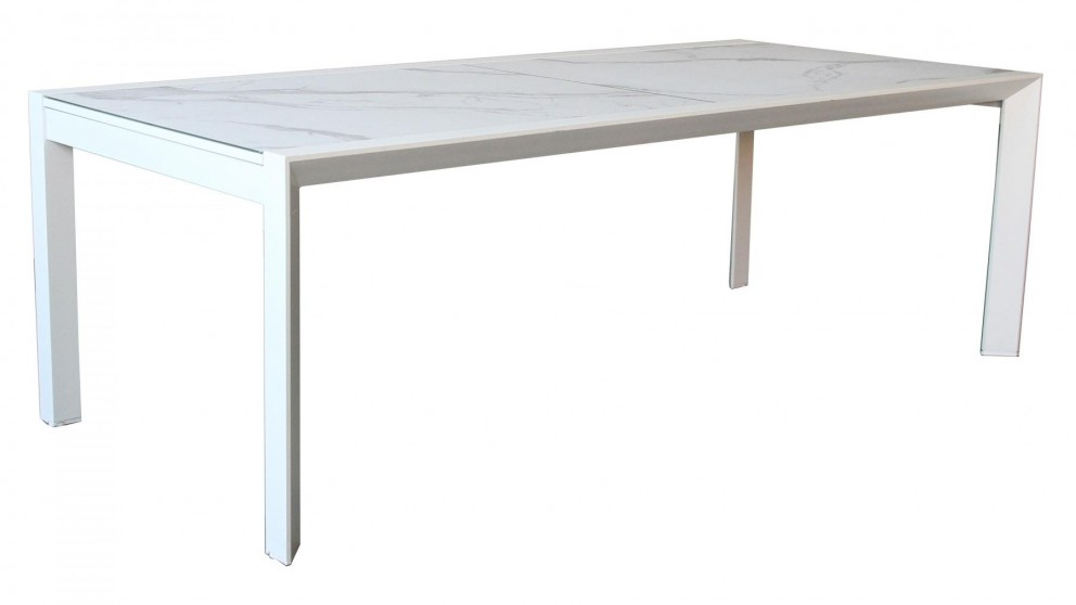 Cetona Outdoor Extension Dining Table - White