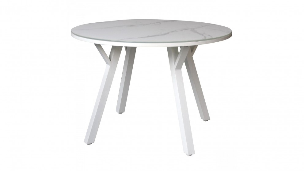 Cetona Outdoor Dining Table - White