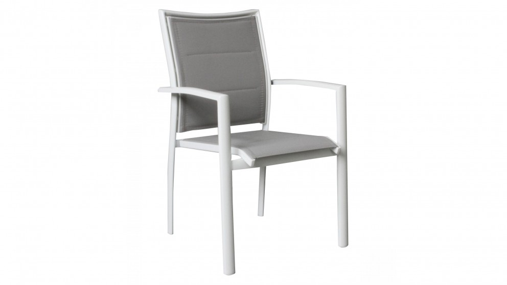 Cetona Outdoor Dining Chair - White
