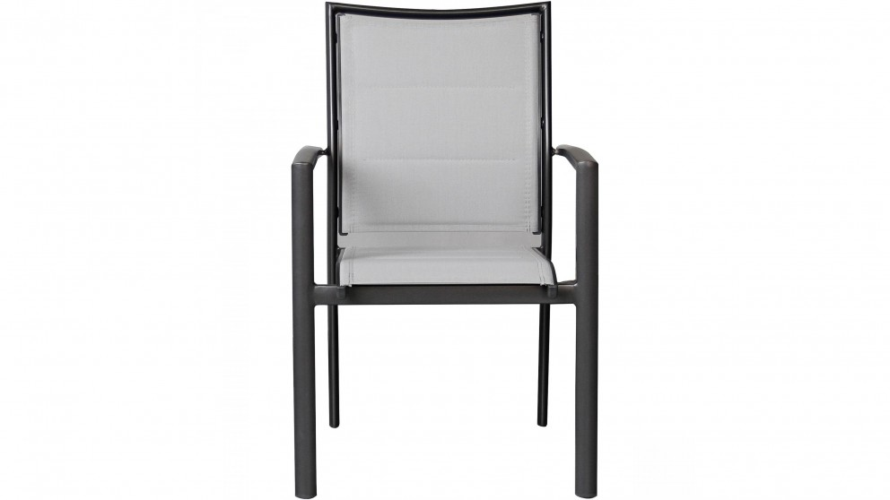 Cetona Outdoor Dining Chair - Charcoal