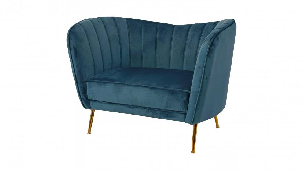 Quay Largo Bedroom Chair - Light Blue
