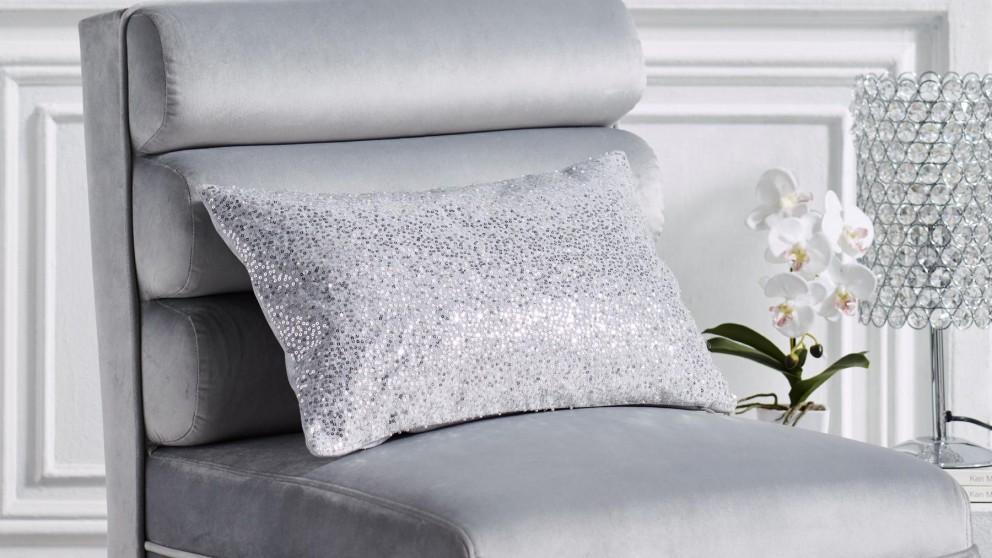 Ambrosia Silver Brunch Cushion