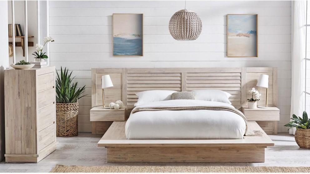 Broadbeach 3-Piece Queen/King Bedroom Suite - White