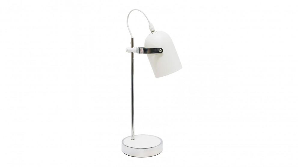 Perla Table Lamp - White