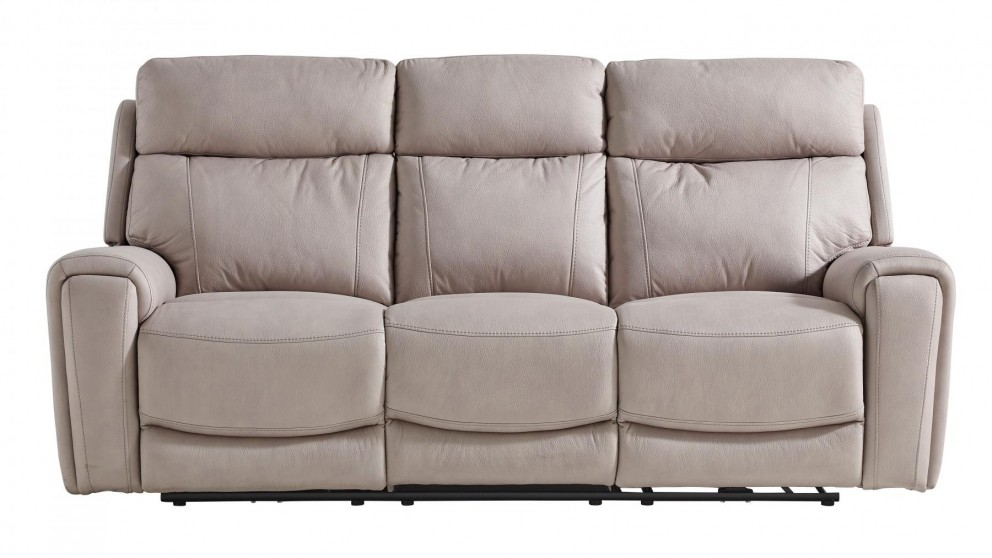 Gatsby 3-Seater Fabric Powered Recliner Sofa - Carrera