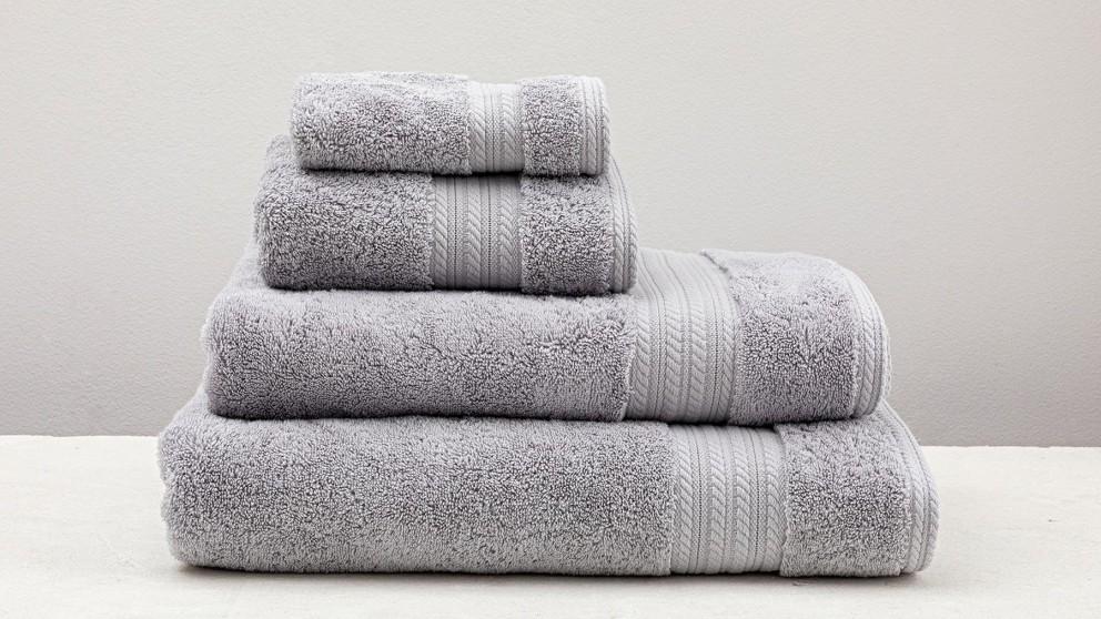 Heavenly Silver Hand Towel