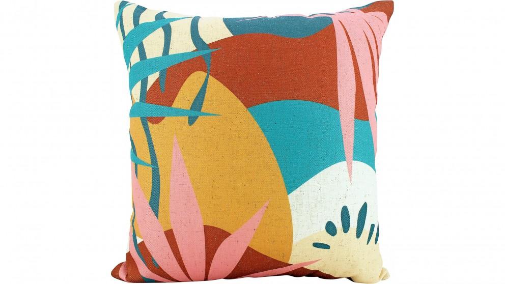 Tropic Abstract Cushion