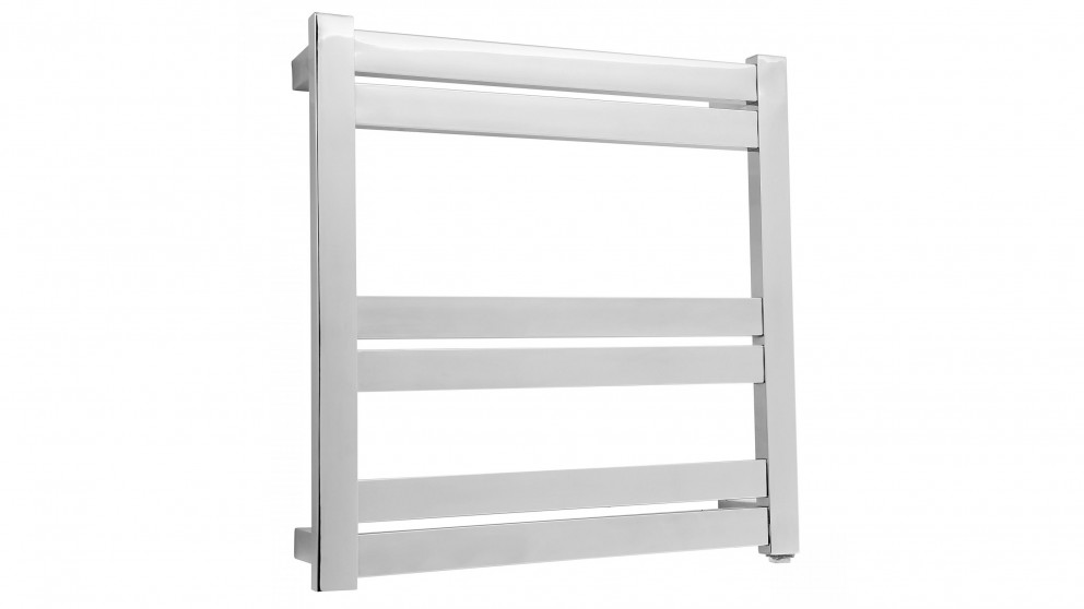 Linsol Siena 6 Bar Heated Towel Rail Dual Wire - Stainless Steel