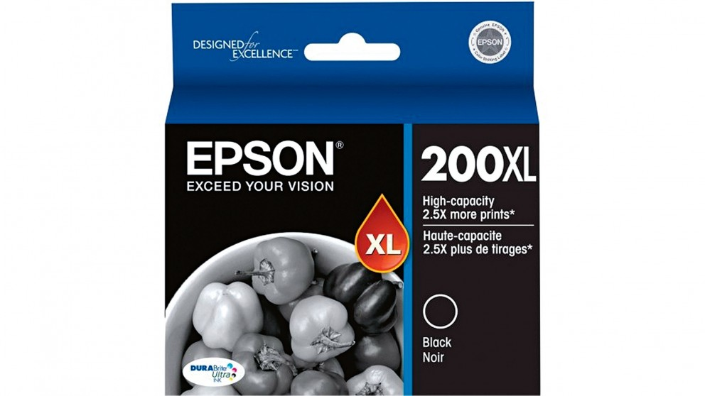 Epson 200XL High Capacity Ink Cartridge - Black