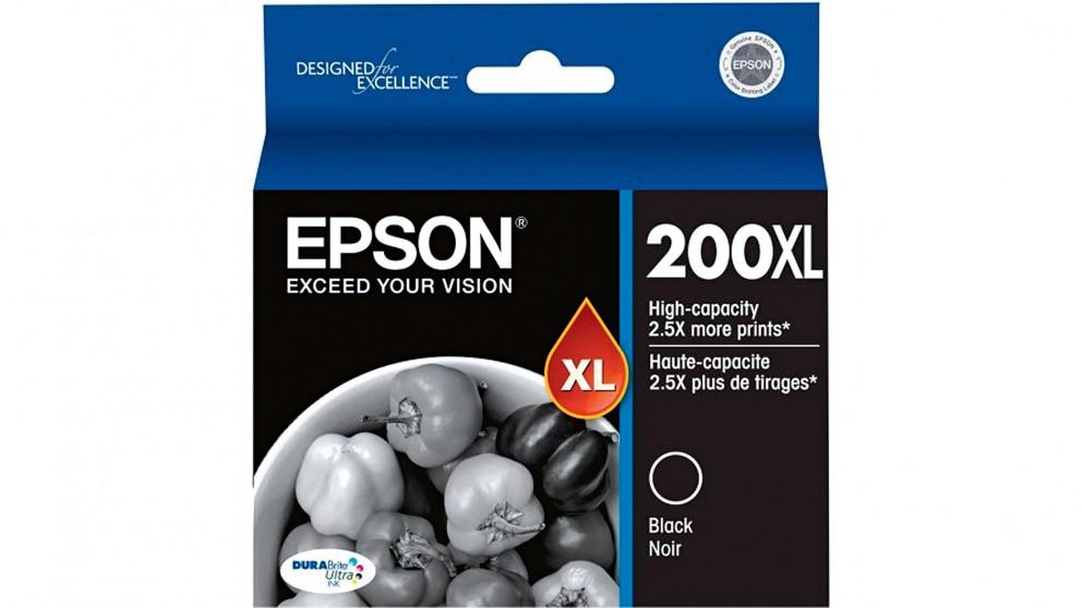 Epson 200XL High Capacity Ink Cartridge - Black