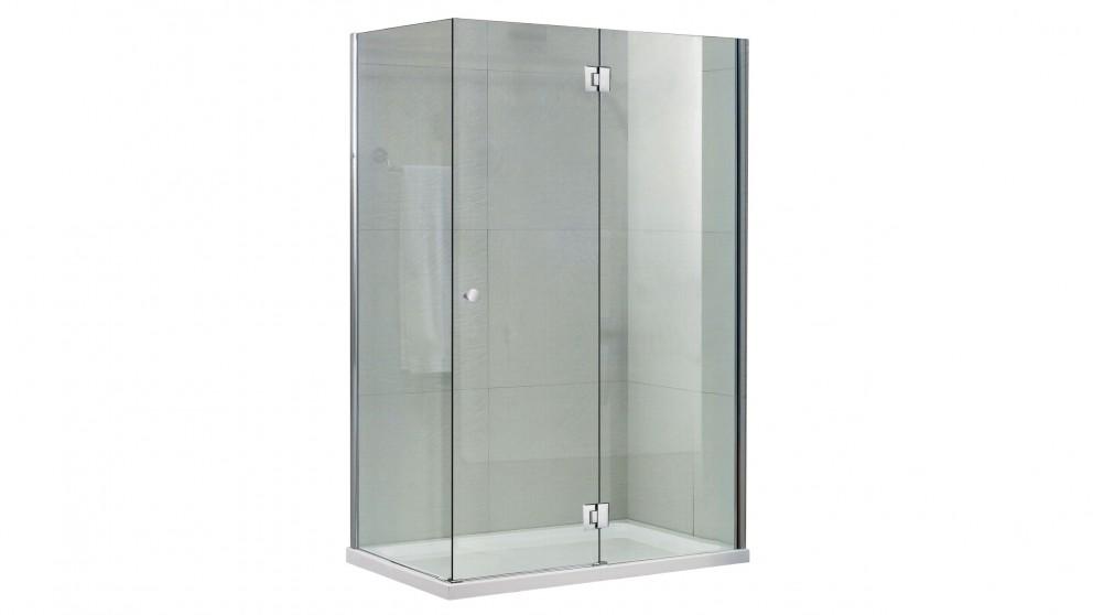 Verotti DIY 900 Flat Packed Frameless Shower Screen