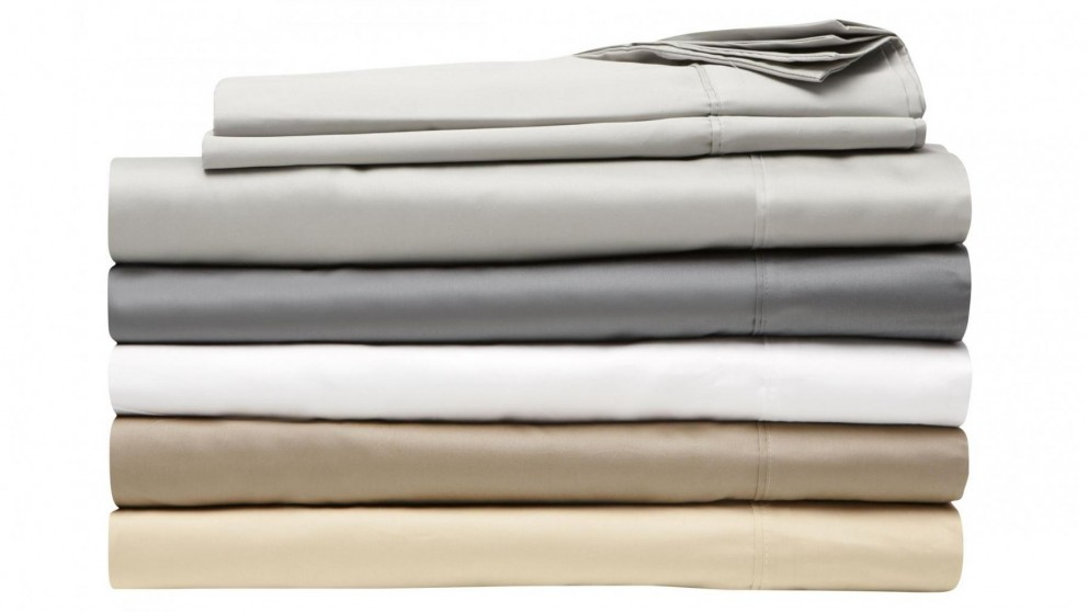 L'Avenue Ivory Super King Sheet Set