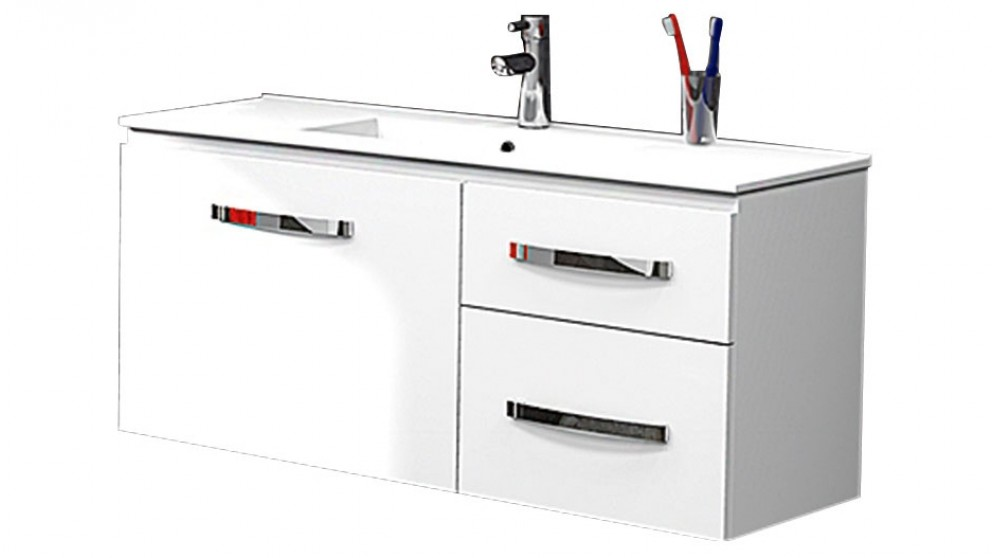 Timberline Flynn 1000 Ensuite Wall Hung Vanity