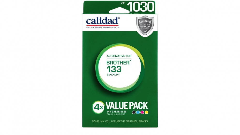 Calidad Brother LC-133 Value Pack Ink Cartridge
