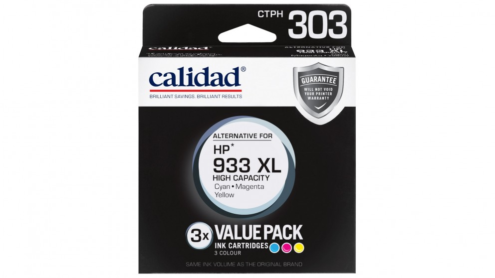 Calidad Value Pack Alternatives For HP 933 XL