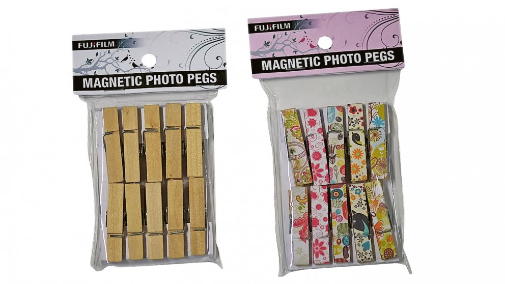 Fujifilm Magnetic Photo Pegs - Pack of 10