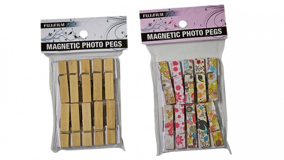 Fujifilm Magnetic Photo Pegs - Pack of 10