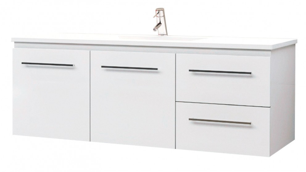 bathroom cabinets australia buy timberline 1200 wall hung vanity harvey norman au 10344