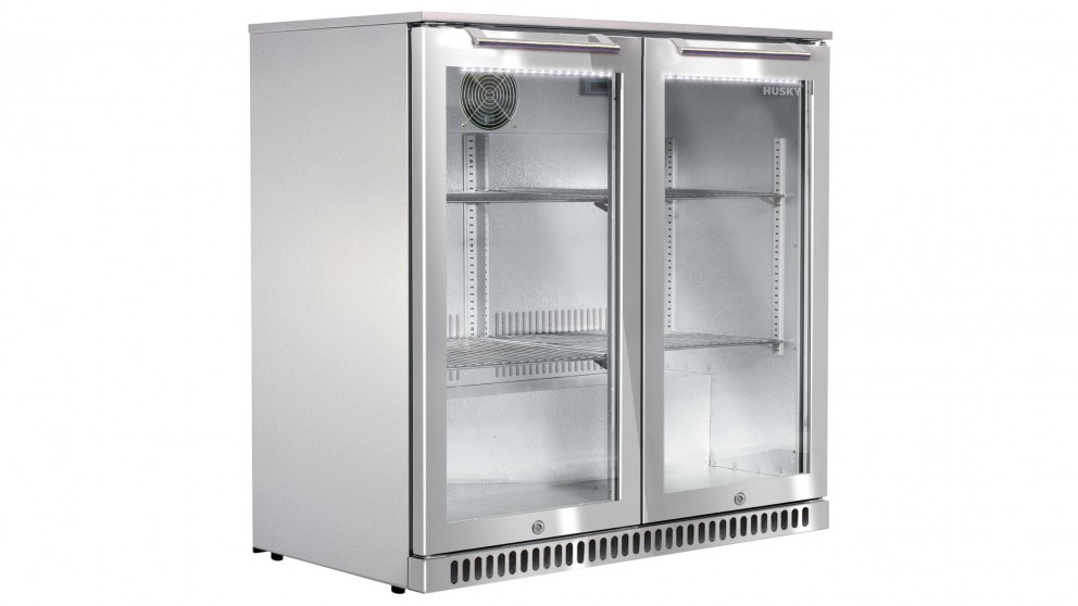 Husky Alfresco 190L Double Door Alfresco Bar Fridge