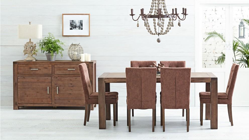 fraser mk2 7 piece dining setting - dining furniture - dining room