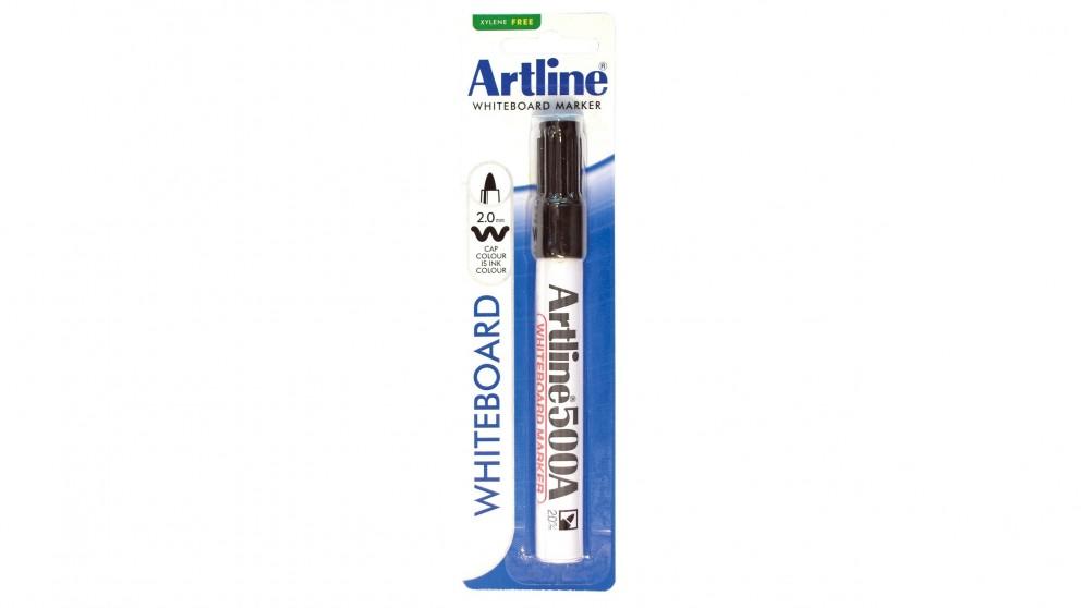 Artline 500A Whiteboard Marker - Black