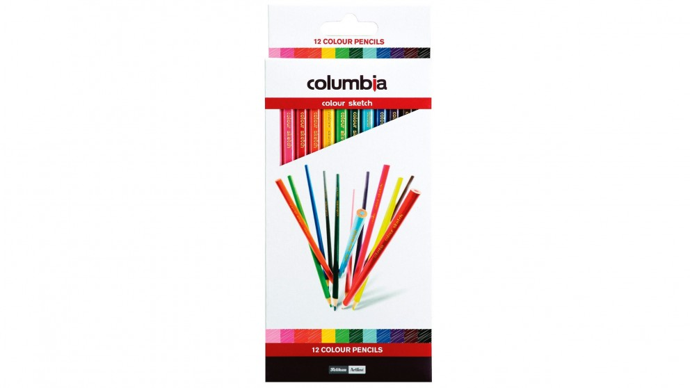 Columbia Pencil Coloursketch 12 Pack