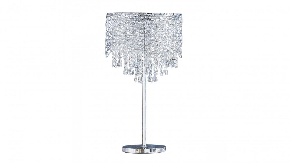 Fabulous Chrome Table Lamp