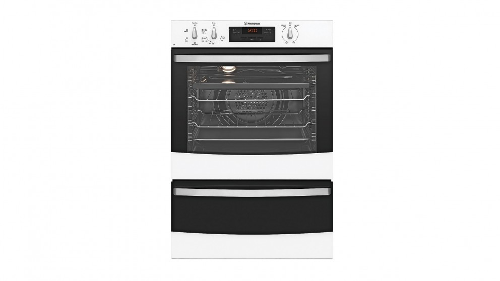 Westinghouse 600mm Multifunction Wall Oven - White