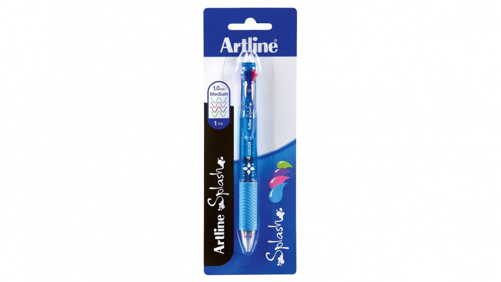 Artline Assorted Brights 4 Colour Stick Pen
