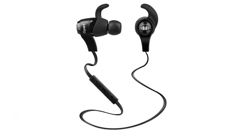 Monster iSport Wireless In-Ear Headphones- Black