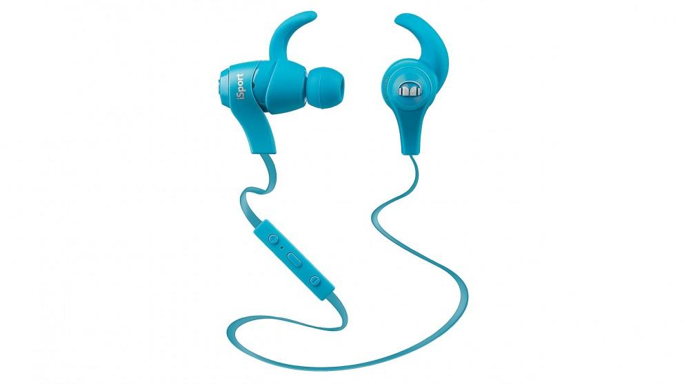 Monster iSport Wireless In-Ear Headphones- Blue
