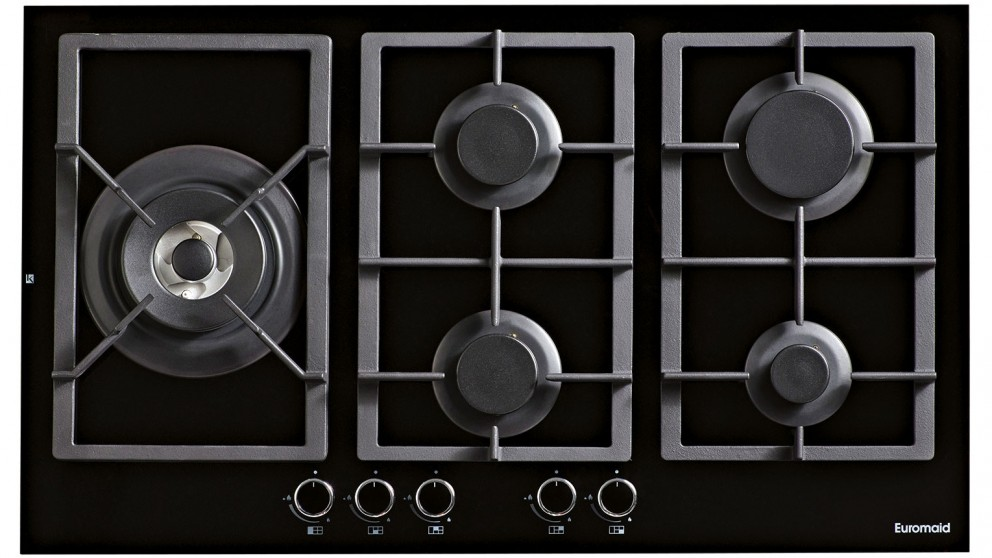 Euromaid 900mm Gas Cooktop