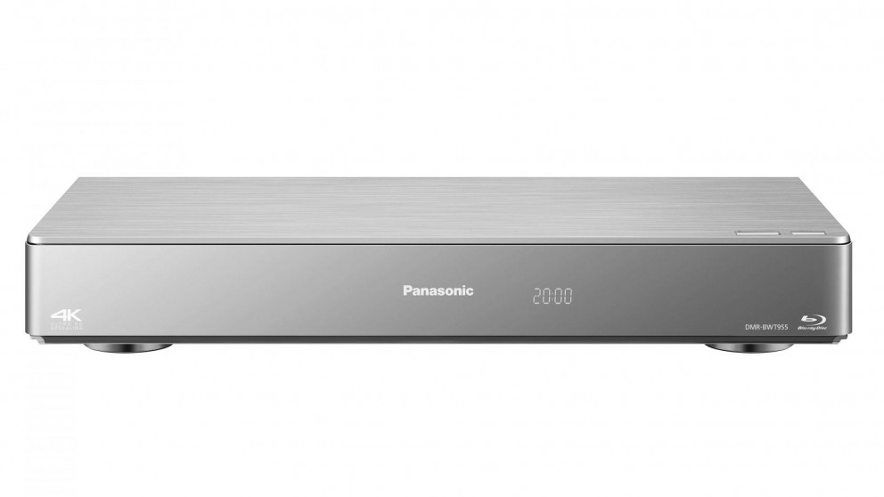 Panasonic 3D 2TB Blu-Ray Recorder With Triple HD Tuner