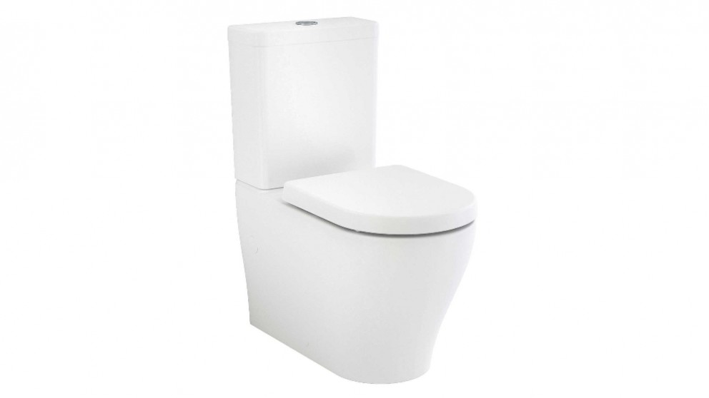 Caroma Luna Back to Wall Toilet Suite - Back Entry
