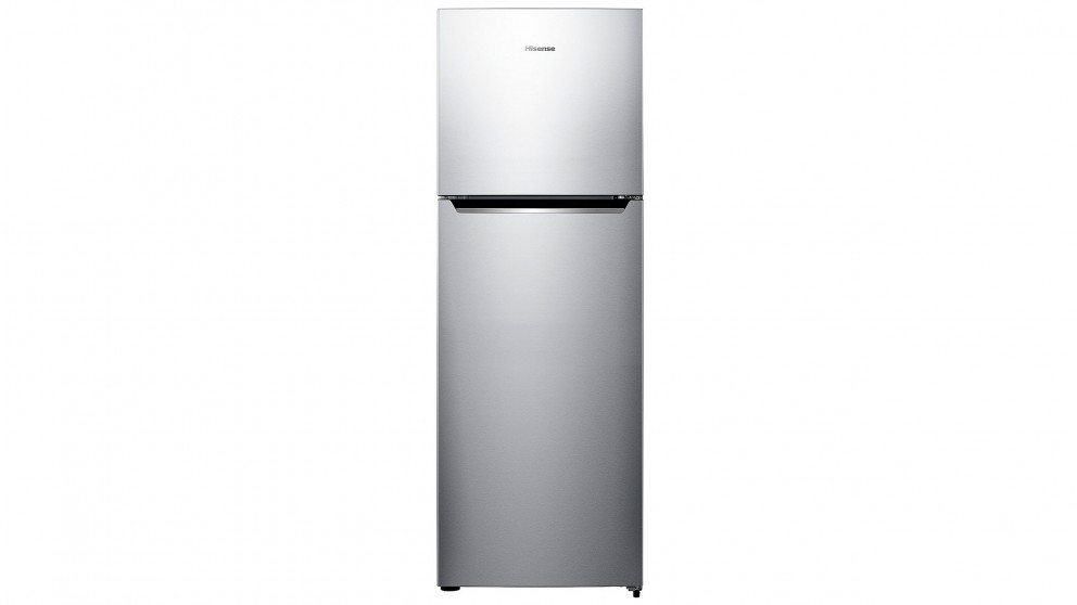 Hisense 350L Top Mount Frost Free Fridge - Stainless Steel