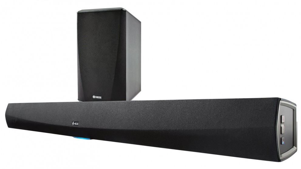 Heos by Denon HomeCinema Soundbar and Subwoofer