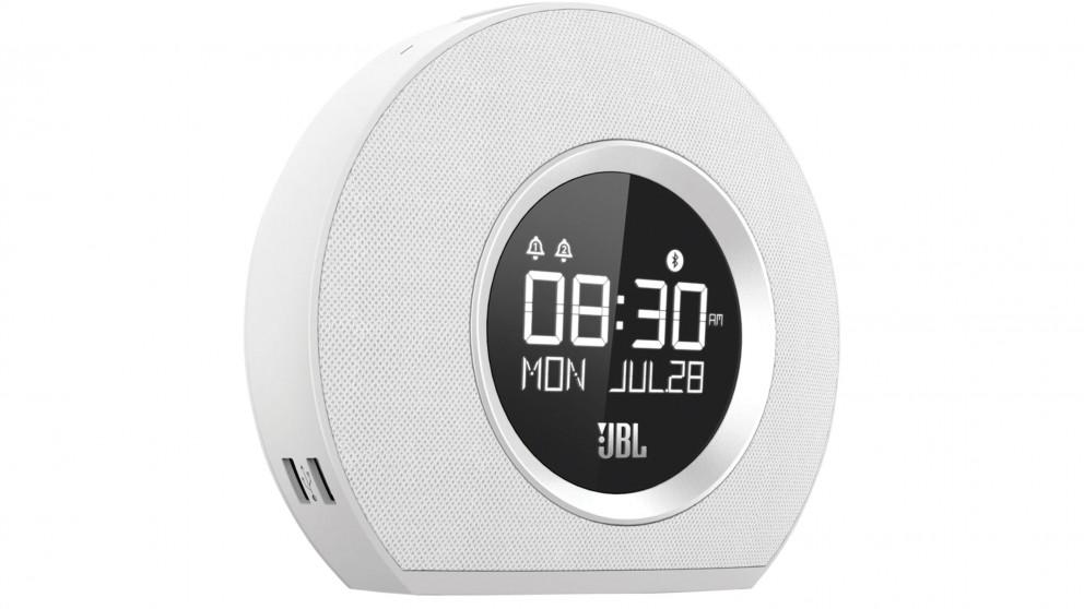 JBL Horizon Clock Radio - White