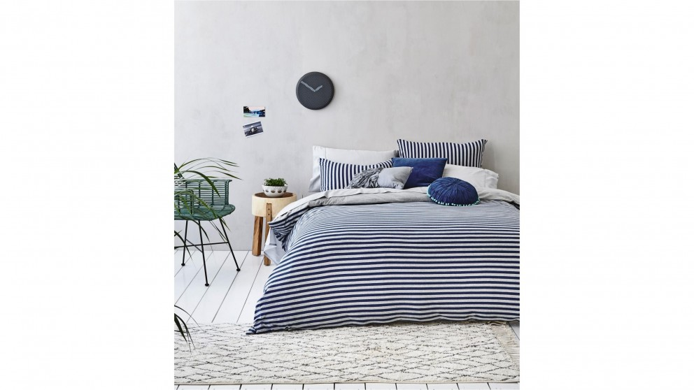 Cooper Stripe King Quilt Cover Set